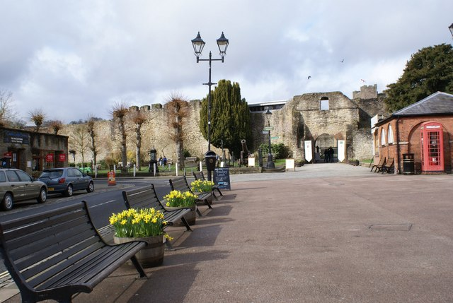 The Entrance to Ludlow Castle