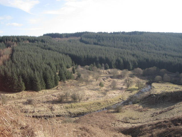 The Kershope Burn,from Moorland Road