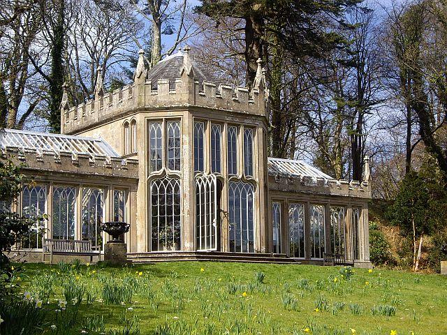 Culzean Castle - camellia house