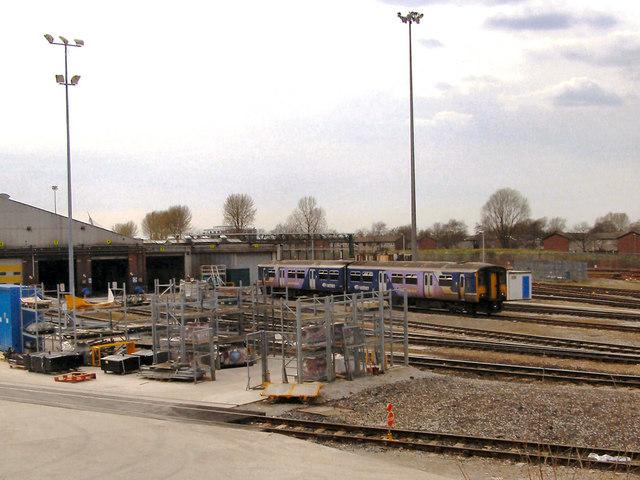 Newton Heath Train Maintenance Depot  U00a9 David Dixon