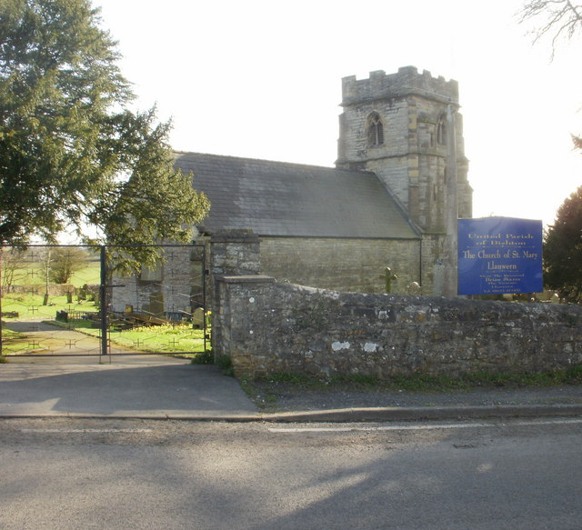 St Mary's Church, Llanwern