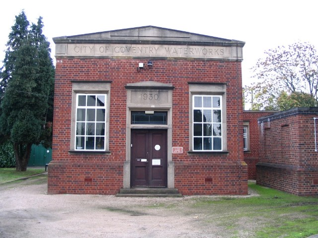 Waterworks building, Brownshill Green