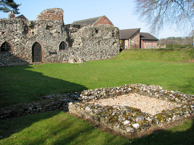 St Olave's Priory in St Olaves