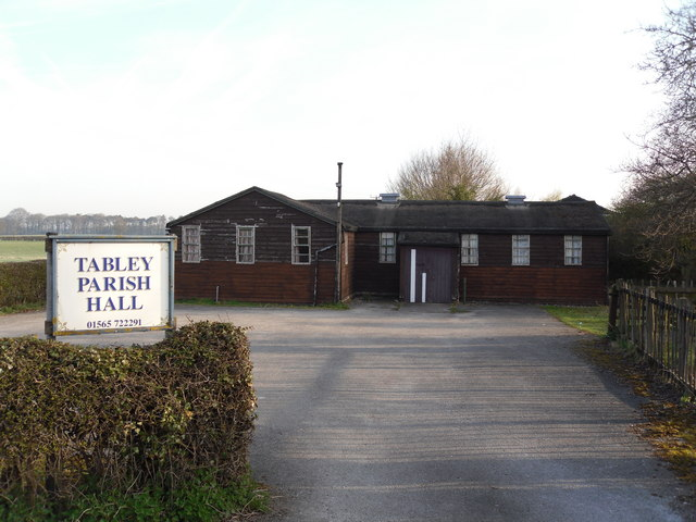 Tabley Parish Hall, Old Hall Lane