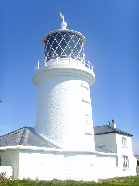 The Lighthouse at Caldey Island.