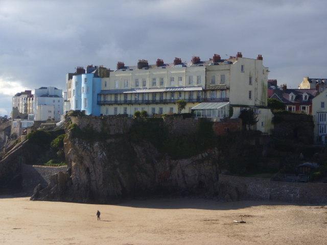 Castle Beach Tenby From Castle Beach Tenby