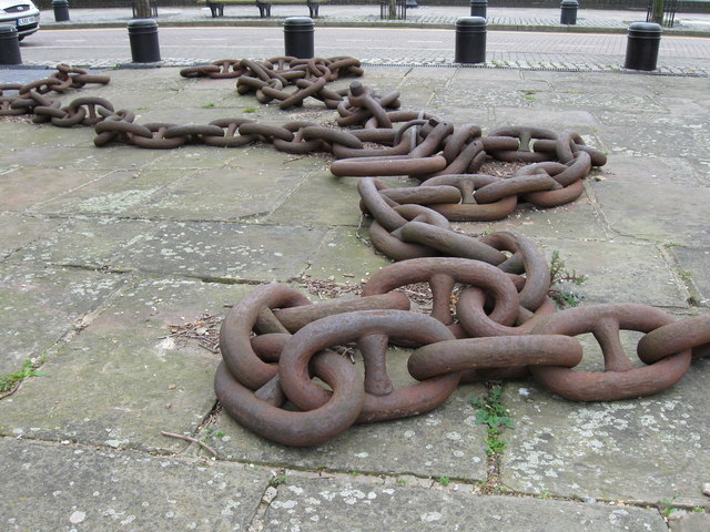 Chains used at the launch of SS Great Eastern