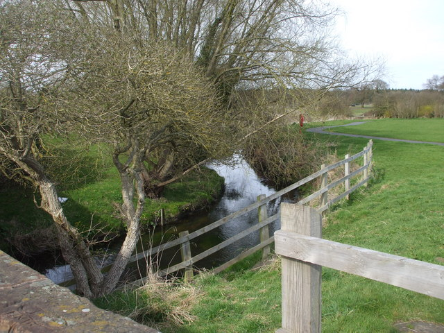 The River Penk, at Coven