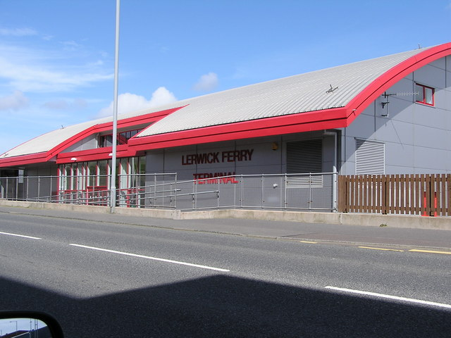 Lerwick Ferry Terminal, Holmsgarth Road