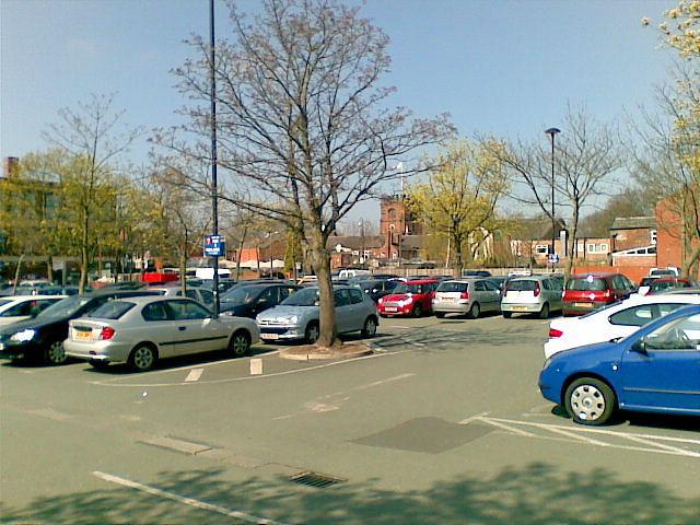 Massie Street car park, Cheadle