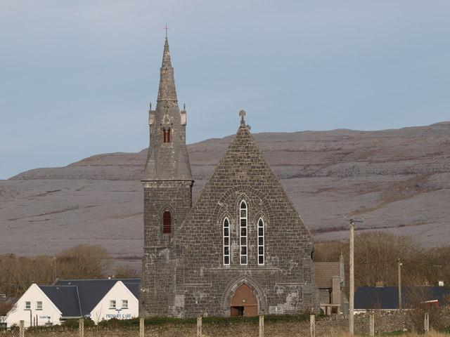 Ballyvaughan Ireland  city images : Ballyvaughan Church Co. Clare C IrishFlyFisher :: Geograph Britain ...