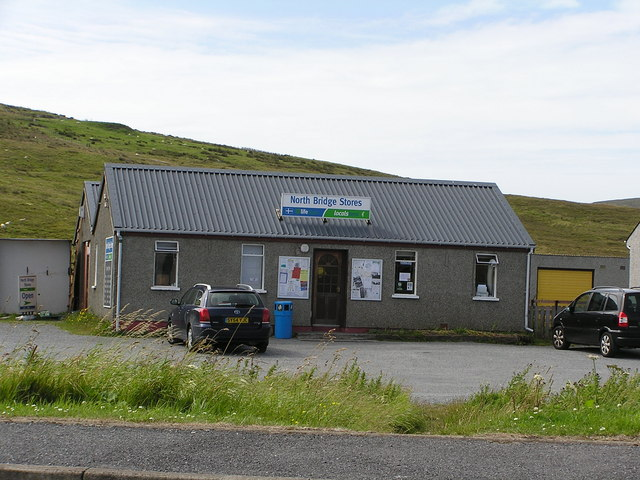 North Bridge Stores, Cunningsburgh