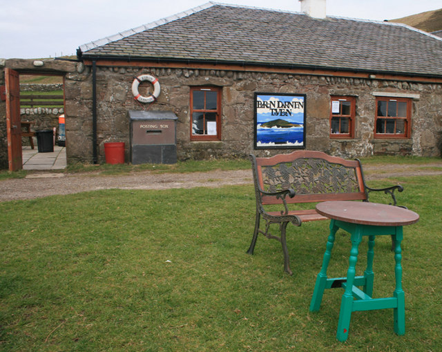 The Byron Darnton Tavern, Sanda Island