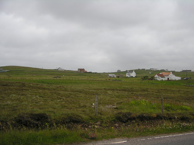 View towards Brough, Whalsay
