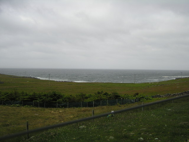 View towards Skaw Voe