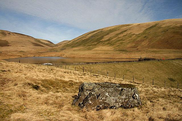 Peden's Stone by Peden Reservoir