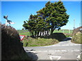 SX1696 : Crossroads at Tremayna by Rod Allday
