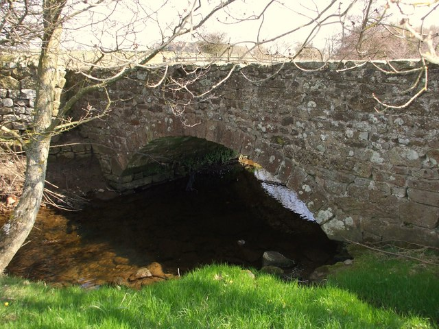 Old Bridge over Nor Beck, Barningham