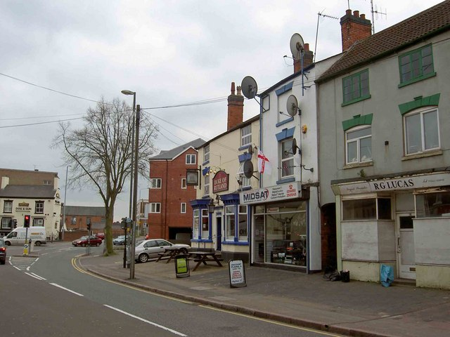 Lower Broad Street, Hinckley, Leicestershire