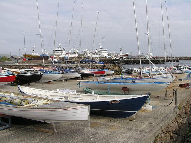 Maid Class sailing boats