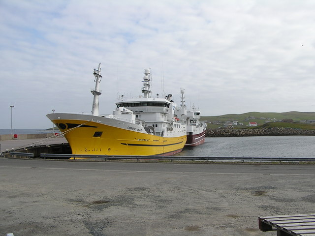 Pelagic Trawlers at Symbister Harbour