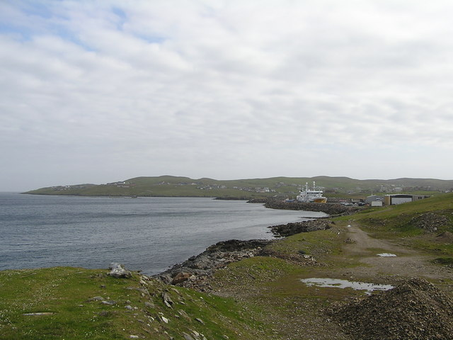 Coastline at Symbister