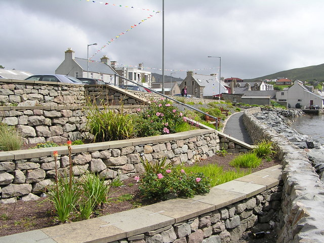 Garden at Scalloway Waterfront