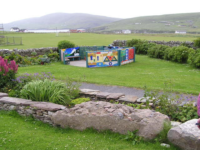 Community Garden near Sandwick School