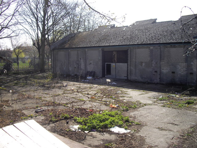 Derelict industrial site, London Road, Romford