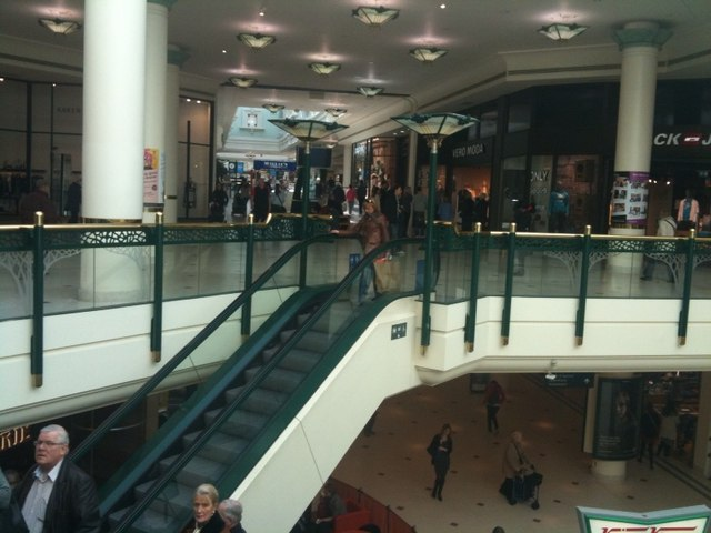 The Glades Shopping Centre Bromley Stacey Harris