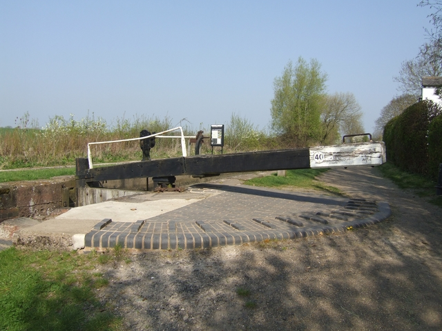 Wilmcote Locks - Lock No 40