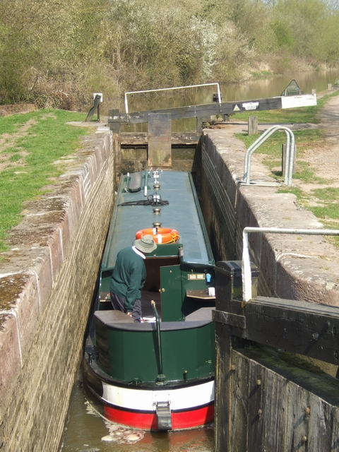 Wilmcote Locks - Lock No 43