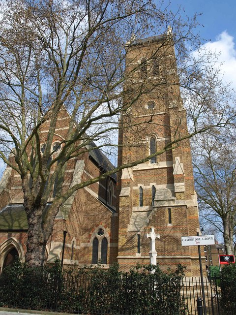Church of St John the Evangelist , Hammersmith