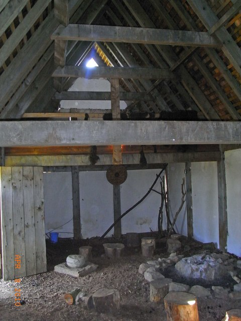 Replica Saxon Building
