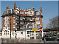 TQ4078 : The Greenwich Hotel (old fire station) by Stephen Craven
