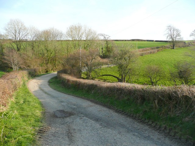 Lane to Waltersmoor, Shebbear