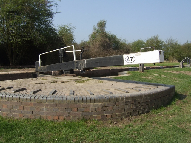 Wilmcote Locks - Lock No 47