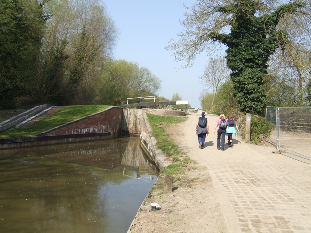 Wilmcote Locks - Lock No 50