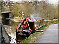 SK0182 : Peak Forest Canal: Whaley Bridge Moorings by David Dixon