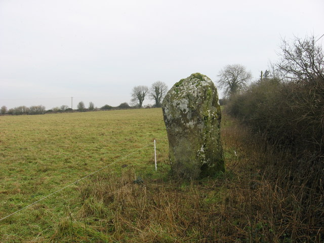 Standing stone at Barnaveddoge, Co. Louth