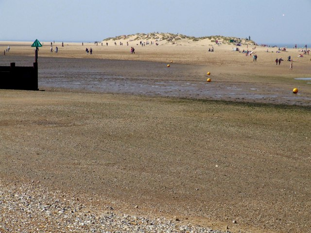 Buxtons Bight, near Wells-next-the-Sea