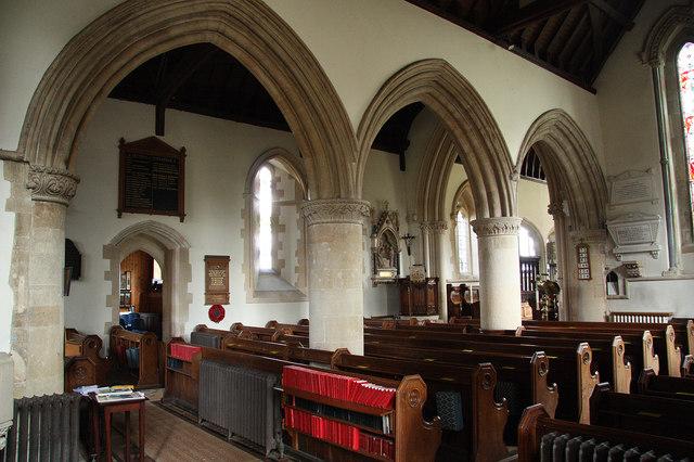 South arcade richard croft geograph britain and ireland St mark s church englefield