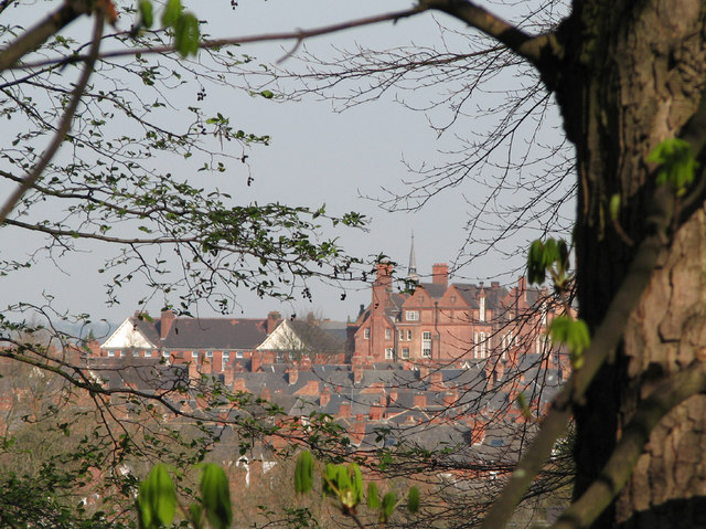 The spire of my old school - 4
