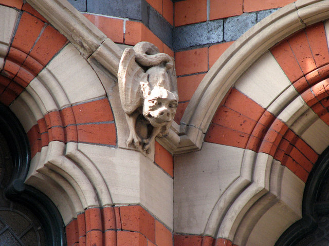 Watson Fothergill's Offices, George Street: carving