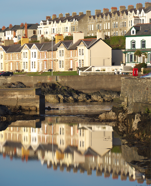 Reflections in the 'Long Hole', Bangor