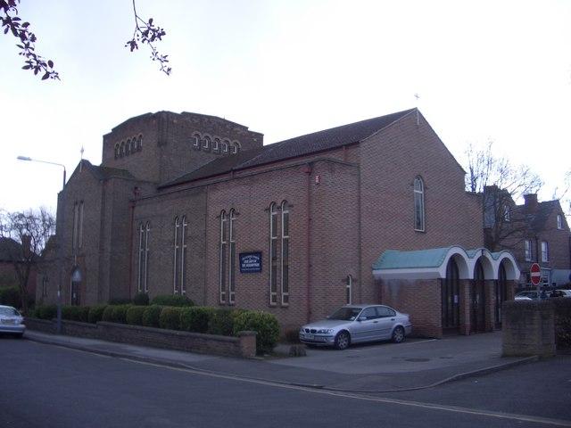 Roman Catholic church on Foster Avenue in Beeston
