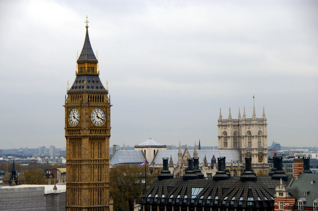 Westminster Abbey and the Tower of Big Ben