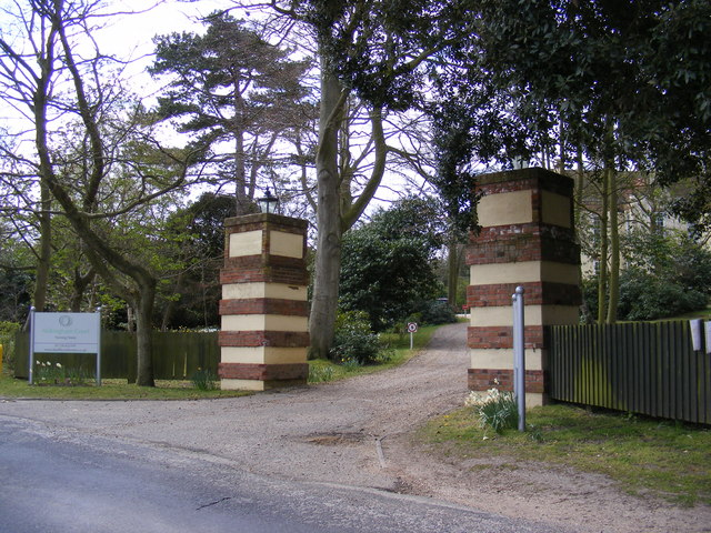The Entrance to Aldringham Court