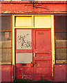 J5081 : Red doors, Bangor : Week 16