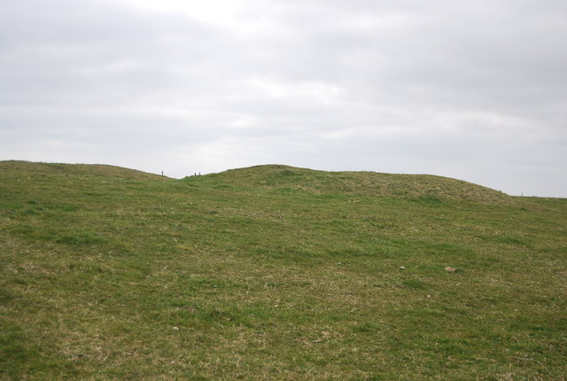 Tumulus on the South Downs ridge